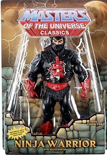 MASTERS OF THE UNIVERSE Classics__NINJA WARRIOR 6   action figure__Exclusive_MIB