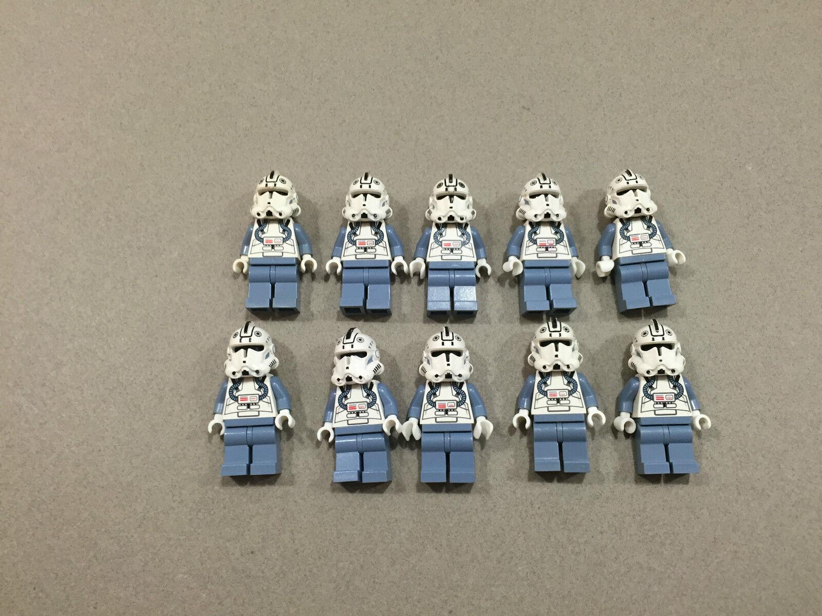 LEGO Clone Trooper Lot of 10 Star Wars Wars Wars Minifigure minifig Huge LOT Clones M220 52aecd