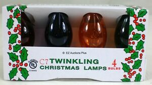 4 Pack Of Transparent Multi Color Twinkling Flashing C 7