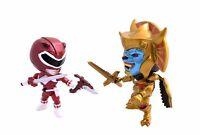 Power Rangers Metallic Red Ranger Vs. Goldar The Loyal Subjects Vinyl Figure on sale