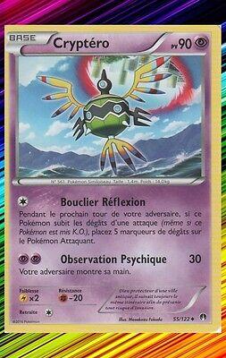 Carte Pokemon Neuve Française XY09:Rupture Turbo 55//122 Cryptéro