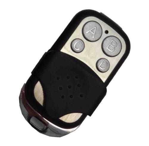 TKStar 433,92 Mhz Handsender Fernbedienung kompatibel zu Garagento Simba RC1 RC4