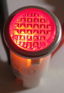 Red-w-Steel-Bezel-Panel-Mount-Round-Indicator-Light-Solico-14V-1-Watt