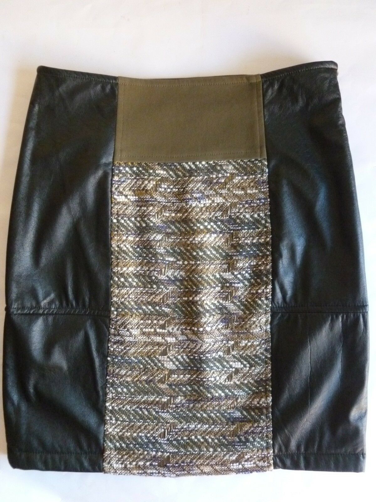 New faux leather skirt Max Mara Intrend 42 IT, Gonna Max Mara Intrend tg42 NUOVA
