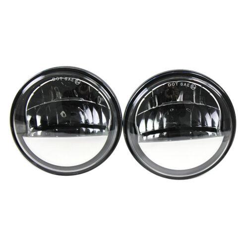 """Eagle Lights 7/"""" 27270C LED Headlight w// LED Passing Light Kit for Harleys"""