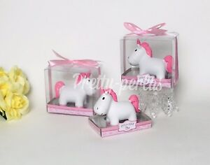 1-Baby Shower Unicorn Cake Topper Decoration Figurine Girl ...