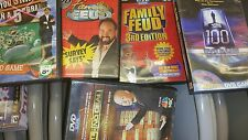 (5) FAMILY FEUD, WHO WANTS TO BE A MILLIONAIRE AND DEAL OR NO DEAL, DVD GAMES
