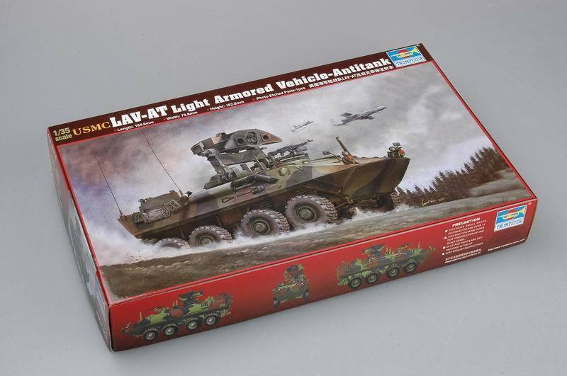 00372 Trumpeter 1 35 Model USMC LAV-AT LIGHT Armored Vehicle Antitank Kit