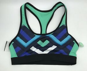 ec4d56e85ebf8 NWT Champion Size XS Seamless Duo Dry Green Geometric Print Sports ...