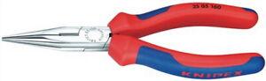 Flachrundzange-L-140mm-verchromt-Griffe-2-K-Griff-Knipex