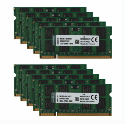 Lot for Kingston 2GB PC2 6400S 2RX8 DDR2 800MHz Laptop Memory RAM SO-DIMM @MT