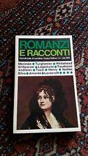 ROMANZI E RACCONTI - SADEA EDITORE - 1965