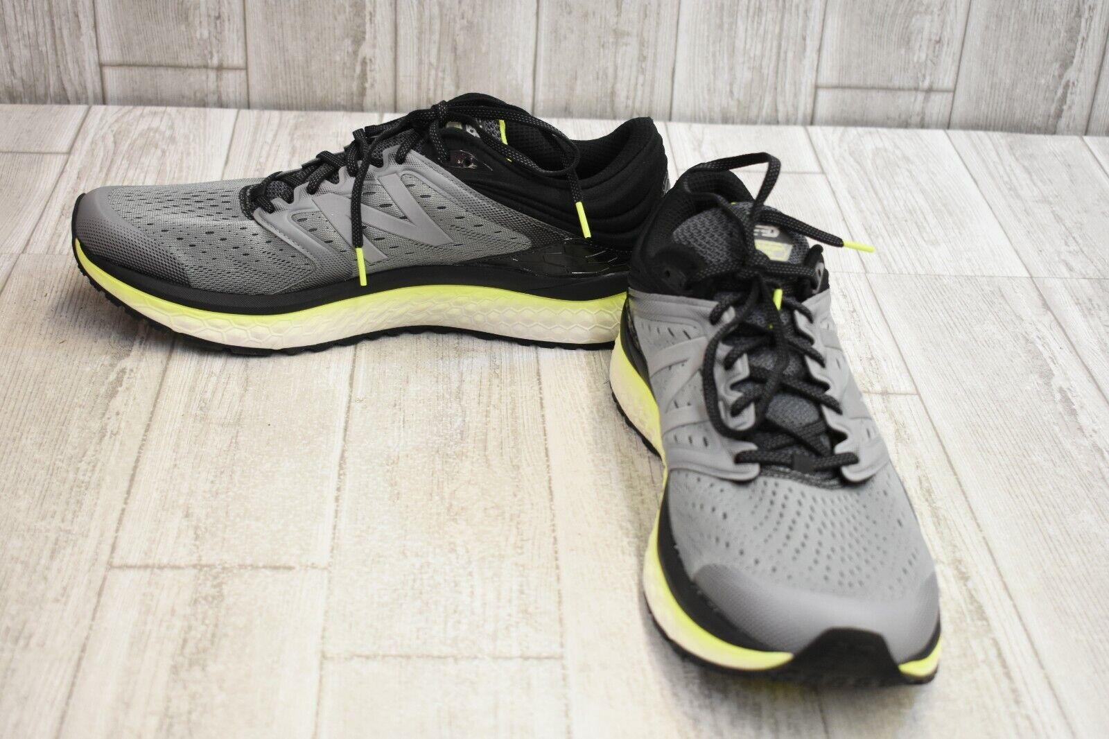 New Fresh Foam 1080v8 Running zapatos Balance-para Hombres D, Negro gris Lima