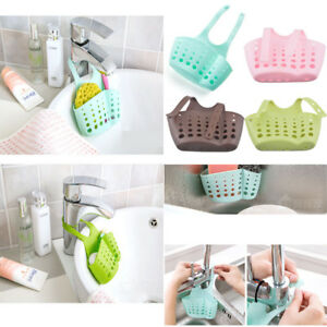 Image Is Loading Ajule Kitchen Hanging Strainer Rack Sink Sponge Holder