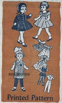 "OLD MAIL ORDER FITS 14"" TODDLER DOLL CLOTHES PATTERN 4533"