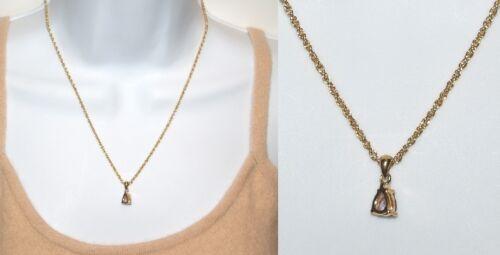 BELLISSIMO Ciondolo Collana vera ametista e diamante-alta qualità