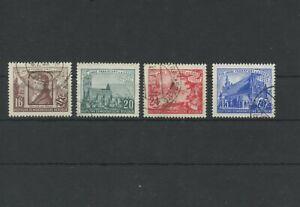 Germany-GDR-vintage-yearset-1953-Mi-358-361-Postmarked-Used-More-Sh-Shop-3