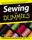 Sewing For Dummies by Jan Saunders Maresh (Paperback, 2004)