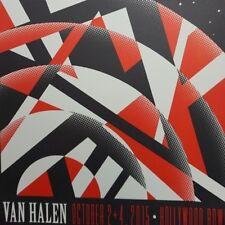 Van Halen - 2015 Kii Arens poster Los Angeles, Hollywood Bowl