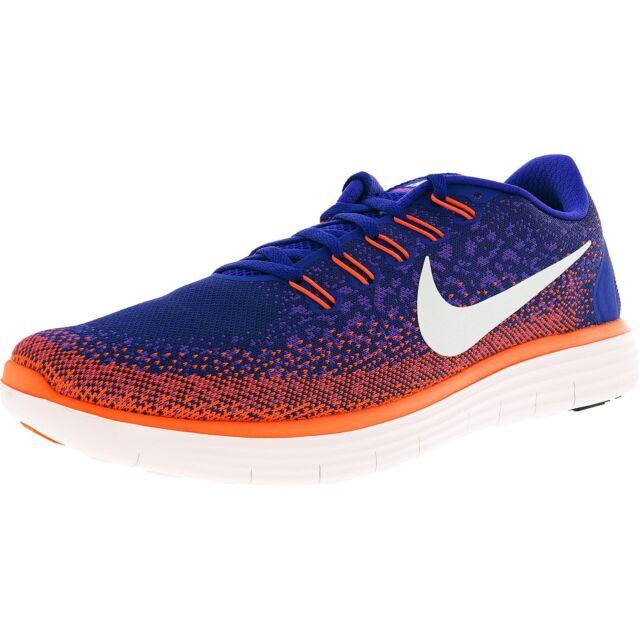 Nike RN Distance Running Shoes Mens 11 Concord Grape Crimson 827115