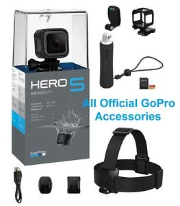 GoPro-Hero5-Session-Black-Digital-Camera-Camcorder-4K-Ultra-HD-16GB-Hero-5-NIB