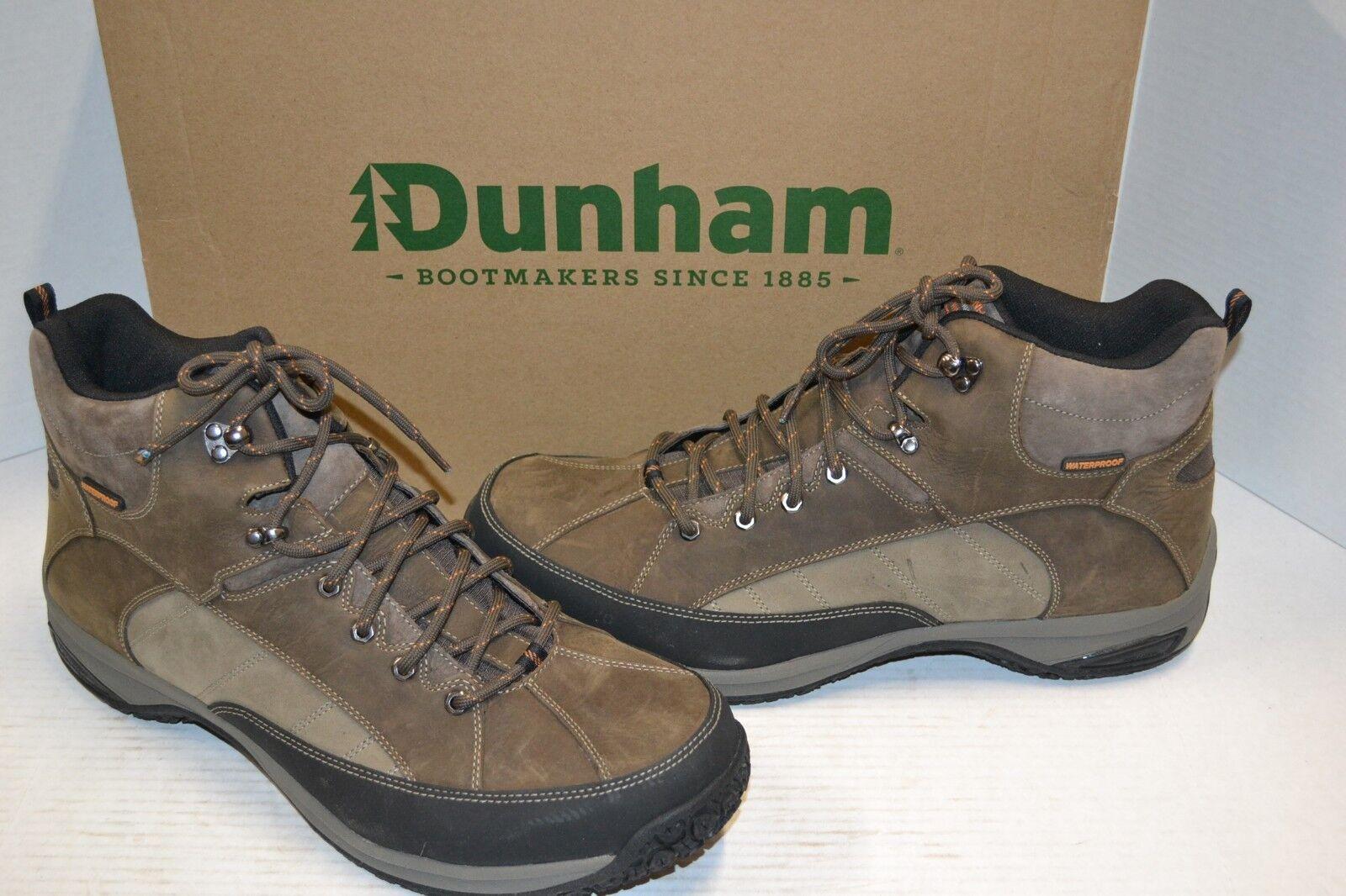 Justin Work Boots Cappie 7 Dark Brown Steel Toe Casual Shoe Moccasin Moc Chukka