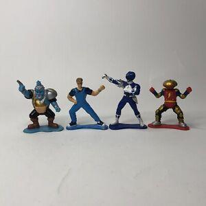 Vintage-1993-amp-1994-Bandai-Power-Rangers-3-034-PVC-Figures-lot-of-4-Rare-Mighty-USA