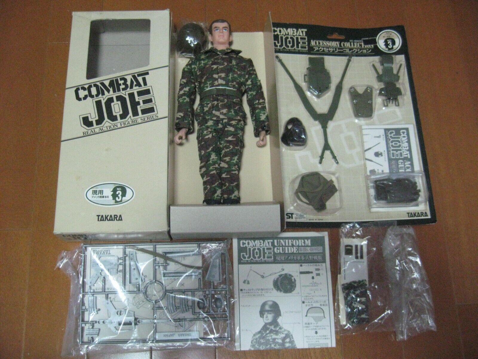 Vintage japonés 1980 Takara combate Joe Completo Moderno conjunto de soldado de Estados Unidos