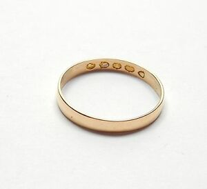 Yellow gold 22 carat Antique wedding ring London 1888 K - <span itemprop='availableAtOrFrom'>South Shields, United Kingdom</span> - If you wish to return your item for repair, exchange or refund then please return with 14 working days of receipt to: T.Elliott Fine Jewellery Ltd c/o Pomodoro 68A Stanhope Road Sou - South Shields, United Kingdom