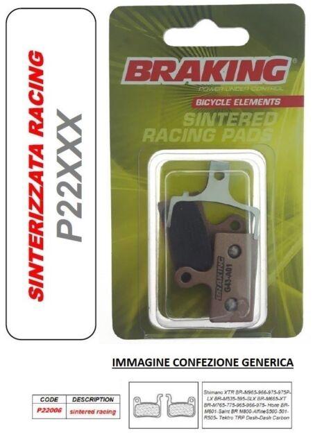 BRAKING Pastilla de Freno Sinterizado Racing MTB Race Shimano XTR BR-M966