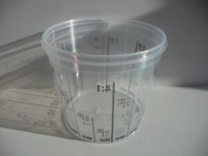 25-x-Carsystem-385ml-Mixing-Cup-Multi-Mix-Cup-Measuring-Cup-Car-Paint-Lackpoint