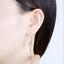 14K-White-Gold-FN-2-20-Ct-Round-Gorgeous-Cut-Moissanite-Drop-Dangle-Hook-Earring thumbnail 3