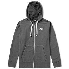 Nike Mens Stealth Grey Air Max Poly Full Zip Hoody Hoodie