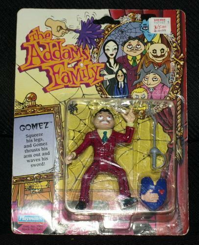 1992 Playmates Addams Family GOMEZ action action action Figure NRFP 03735b