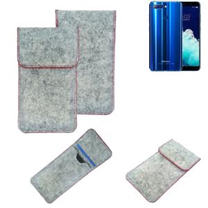 Copertura-in-feltro-p-Hisense-Infinity-H11-Pro-grigio-chiaro-bordo-rosso-Custod