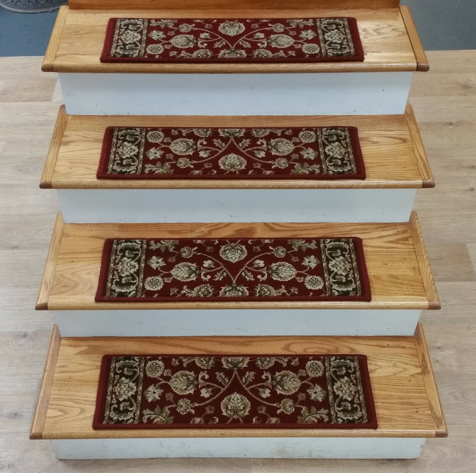 Rug Depot 13 Traditional Non Slip Carpet Stair Rugs Treads 26 X9