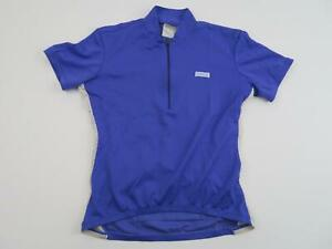 HIND-Womens-Cycling-Bike-Jersey-Size-Small-Purple-White-Road-Half-Zip-Vintage