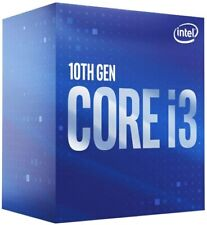 Intel Core i3-10100F CPU 4x 3,6 GHz 6MB-L3 Cache Sockel 1200 10te Gen.