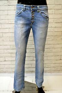 DONDUP-SURYA-Jeans-Slim-Fit-Blu-Uomo-Denim-Taglia-29-Pants-Men-Pantalone-Skinny