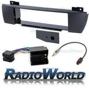 Bmw-X3-04-10-Flush-Fit-Stereo-Radio-Kit-de-montaje-Fascia-Adaptador-Single-Din