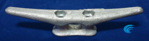 """4X HQ Galvanized Metal 6/"""" CLEAT Boat Marine Dock Raft Anchor Line HD Rope Holder"""