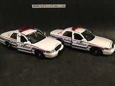 Suffolk County Police NY 1:24 Scale Replica 2-Pack Ford Crown Victoria Set