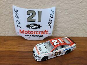 2019 #21 Paul Menard Ford Motorcraft 1//87 NASCAR Authentics Diecast Loose