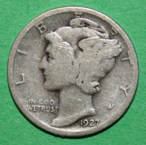 CHECK Inventory 1927-P  US Mercury silver Dimes Price per Each Coin
