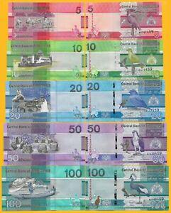 Gambia-Set-5-10-20-50-100-Dalasis-p-new-2019-UNC-Banknotes