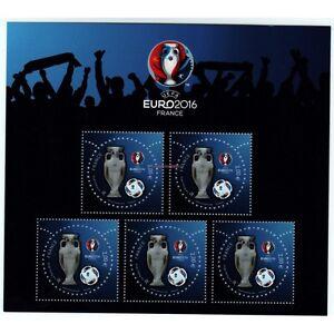 BLOC-SPECIAL-UEFA-EURO-2016-SALON-PARIS-PHILEX-2016-NEUF
