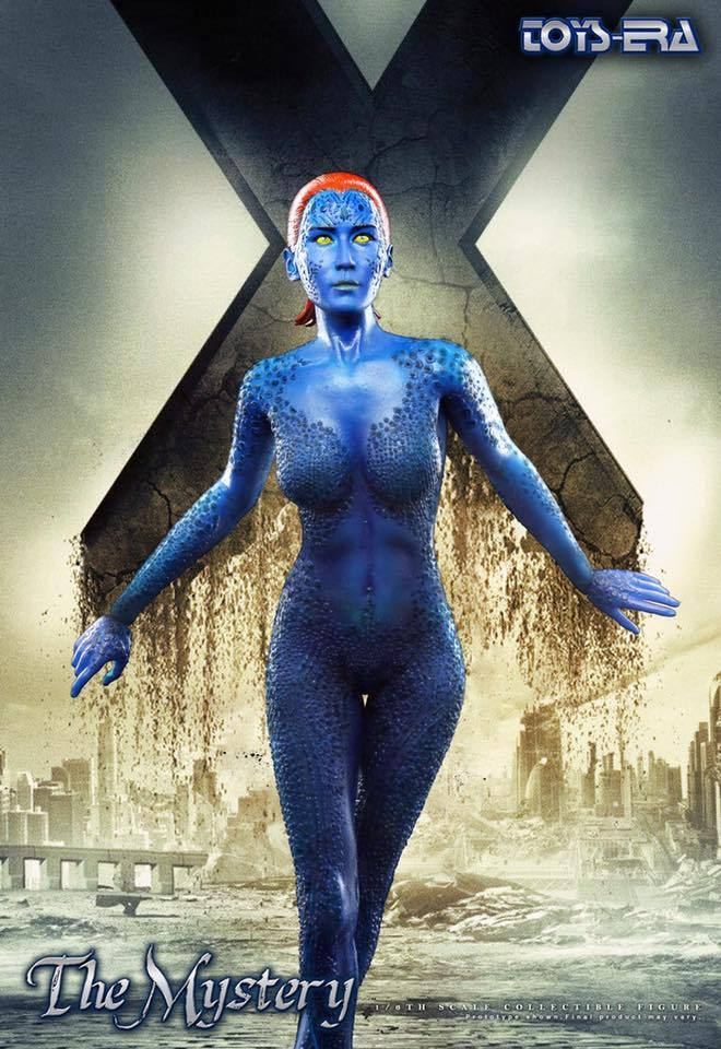 Pre-order 1/6 1/6 1/6 Scale Toys era 12in Mystique Jennifer Lawrence 12'' Action Figure f3a464