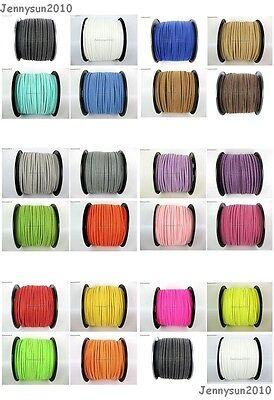 Soft Velvet Korea Frosting Cord Thread For Diy Bracelet Necklace 5Yard 100 Yard