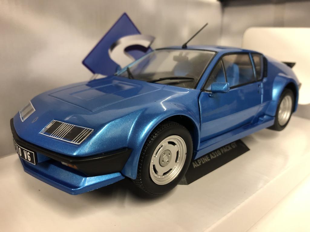 1983  Renault Alpine A310 GT bleu 1 18 scale Solido 1801203 nouveau  approvisionnement direct des fabricants