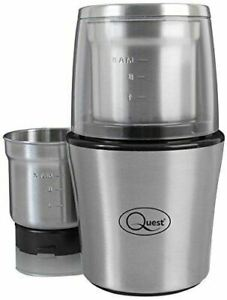 Quest 34170 Wet and Dry One Touch Grinder - Silver